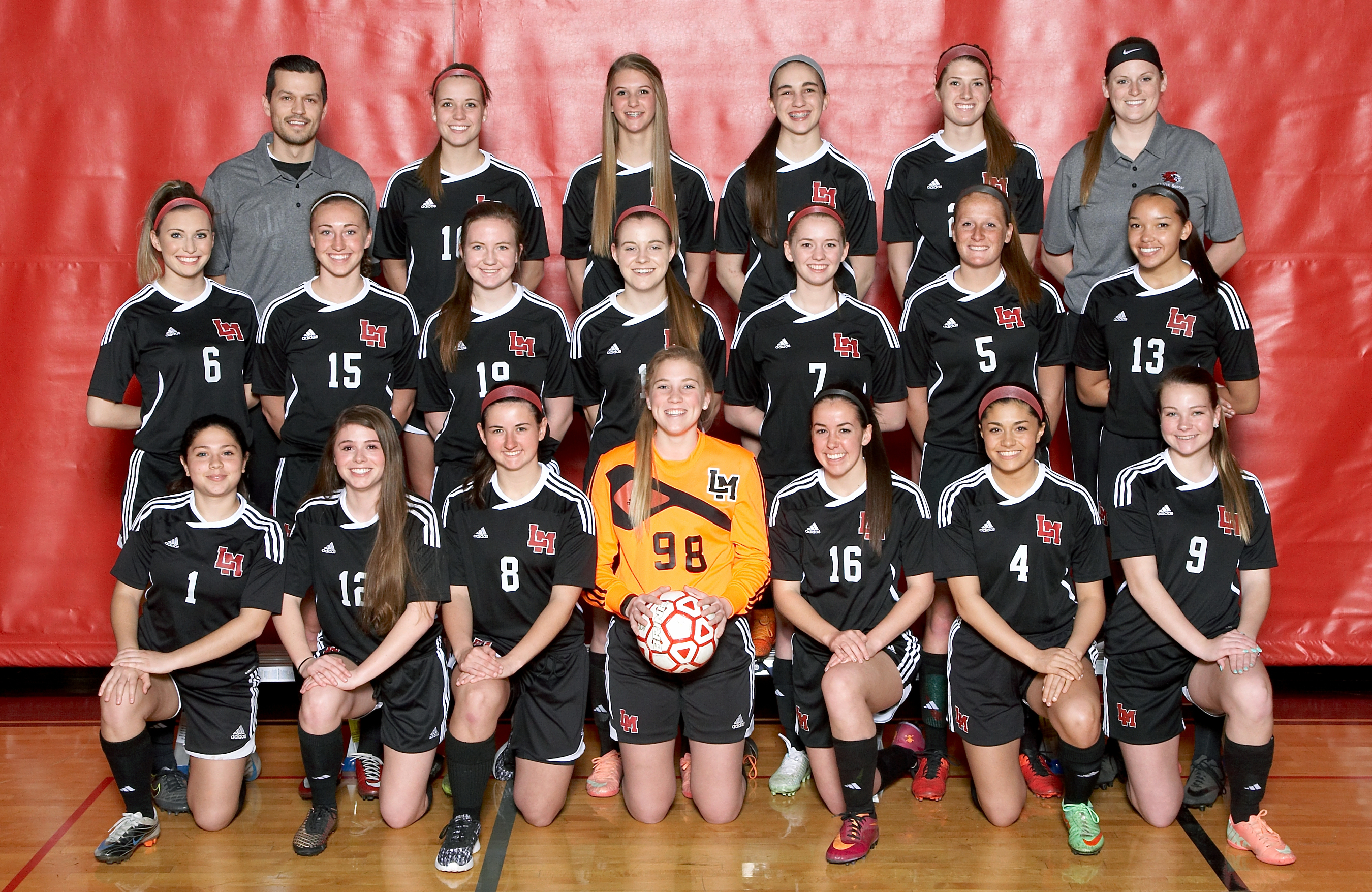 2016 Varsity Team Picture
