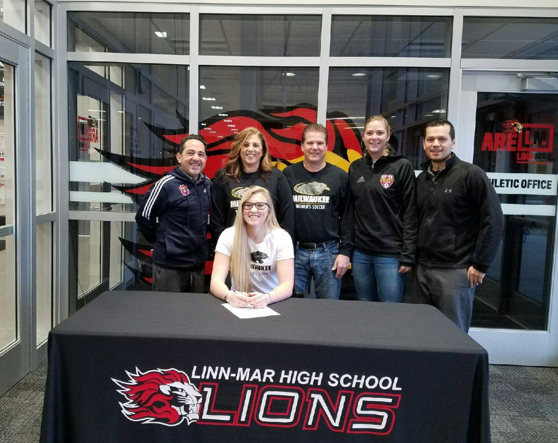 Allie Strottman Signing Day